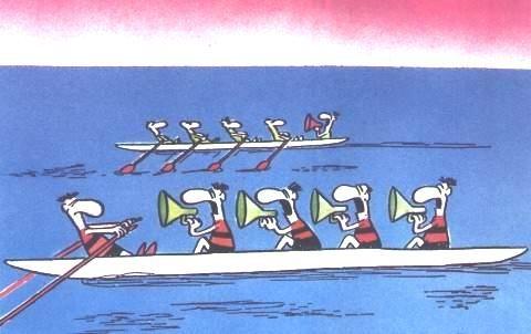 مسابقه قایقرانی